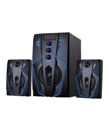 Electronics Vision plus 2.1ch speaker with subwoofer bluetooth 45 watts rms – black
