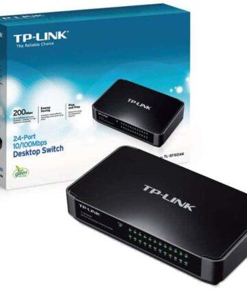 Hubs & Switches Tp link, 24-port 10/100mbps desktop/rackmount switch, tl-sf1024d
