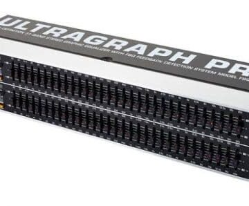 Equalizers BEHRINGER ULTRA-GRAPH PRO EQUALIZER | FBQ3102HD.