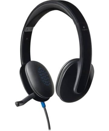 Electronics Logitech High-performance USB Headset H540 for Windows and Mac, Skype Certified and Online Learning.