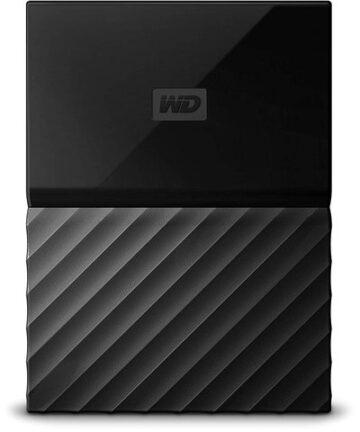 Computer Data Storage WD My Passport – 2TB – Portable External Hard Drive – USB 3.0 – WDBYFT0020BBK-WESN – Black