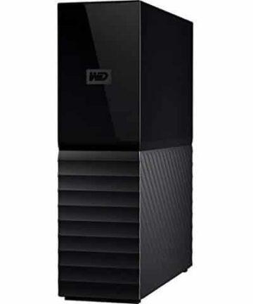 Cloud storage WD 8TB My Book Desktop External Hard Drive, USB 3.0 – WDBBGB0080HBK