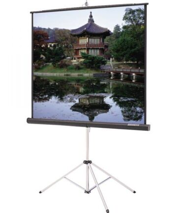 Electronics MANUAL PULL-DOWN PROJECTION SCREEN | 84 X 84 INCHES