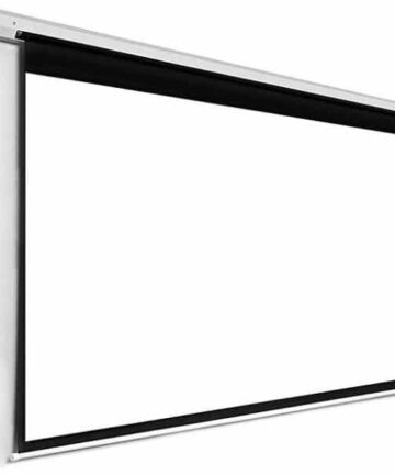 Electronics Manual Pull-down Projection Screen | 120 X 120 Inches