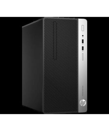 Complete Desktops HP ProDesk 400 G4 Micro Tower PC – Intel Core i7-8700, 3.6 GHz, 1TB HDD -4 GB RAM, Eng Keyboard, DOS, Black