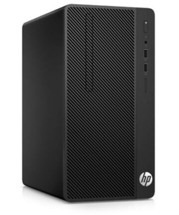 Complete Desktops HP 290 G2 Micro Tower PC- Intel Core i3-4GB RAM-1TB HDD-8500, 3.4GHz, 18.5 Inch, Eng Keyboard, DOS, Black