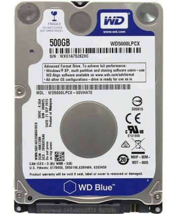 Computer Components Western Digital WD5000LPCX 500 GB SATA 2.5-inch Laptop Hard Drive