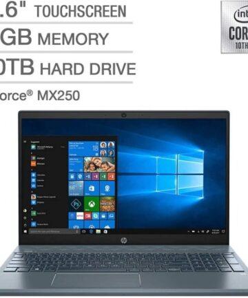 "Computing HP Pavilion 15 CS3073CL Intel Core i7 1065G7 16GB 15.6"" Fog Blue"