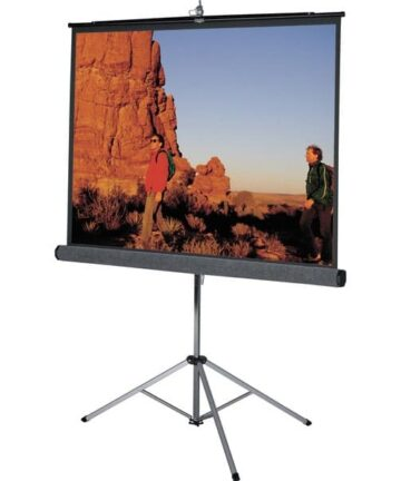 Electronics MANUAL PULL-DOWN PROJECTION SCREEN | 96 X 96 INCHES