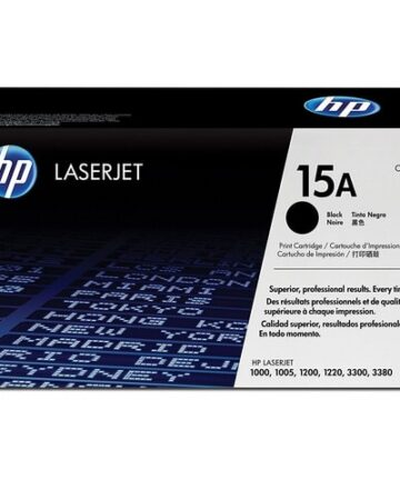 Printers & Accessories HP 15A (C7115A) Black Original LaserJet Toner Cartridge