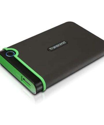 Computer Data Storage 500 GB TRANSCEND Storejet 25M3 External Hard Drive with USB 3.1