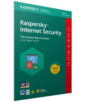 Softwares & Anti-virus Kaspersky Internet Security 2019 1+1 Devices 1 Year PC MacAndroid Activation Code Inside