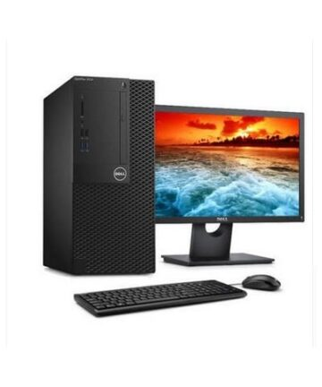 Complete Desktops Dell Optiplex 3050 Mini Tower Business Computer Intel Core i3-4GB RAM-500GB HDD-7700 3.4GHz, 18.5 Inch, Eng Keyboard, DOS, Black