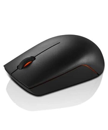 Computer Accessories Lenovo 300 Wireless Compact Mouse, Black, 1000 dpi, Ultra-portable design, Up to 12 months battery life, GX30K79402