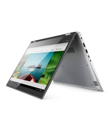 2 in 1 Lenovo Yoga 520 Intel Core i3 8th Gen 14-inch Full HD Touch Screen Laptop 4GB 1TB Windows 10 Home Active PenFingerprint Mineral Grey