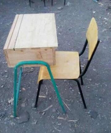 Schoolfurniturekenya Approved Durable Lockers & Chair for Kenya Schools Kenya School Furnature
