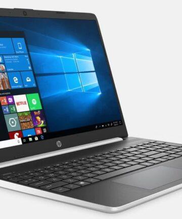 Computing Hp Notebook 15 Core i7 10th Gen 4GB RAM 1TB HDD